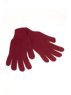 Перчатки Shapkoff. Цвет: бордовый