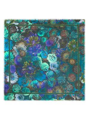 Платок Eleganzza. Цвет: зеленый, бирюзовый, голубой