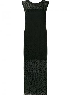 Платье Volupia Uma | Raquel Davidowicz. Цвет: чёрный
