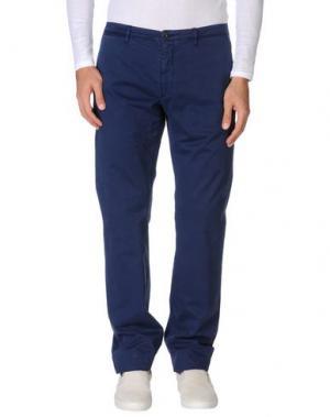 Повседневные брюки SIVIGLIA WHITE. Цвет: темно-синий