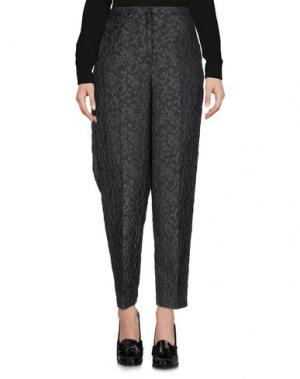 Повседневные брюки LIVIANA CONTI. Цвет: свинцово-серый