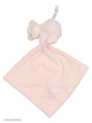 Мишка комфортер розовый, коллекция Жемчуг Kaloo. Цвет: розовый