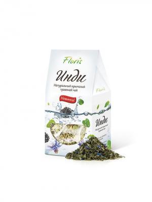Floris натуральный крымский травяной чай инди, 40 гр. Цвет: белый