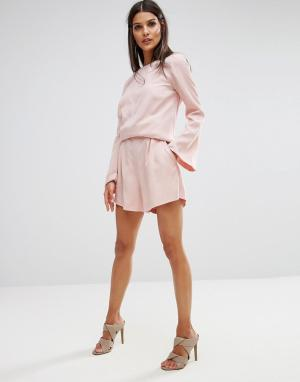 Finders Keepers Шорты Aster Co-ord. Цвет: розовый