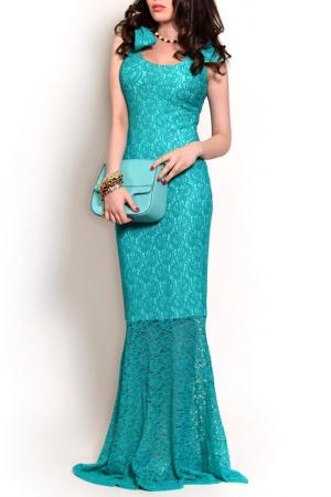 Платье MONT PELLIER. Цвет: зеленый