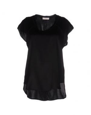 Блузка E_GO' SONIA DE NISCO. Цвет: черный