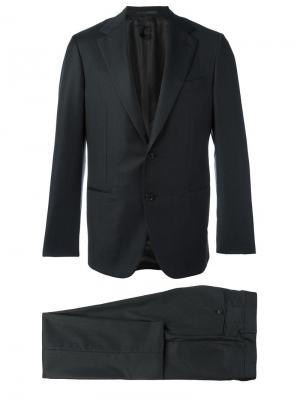 Jacquard dinner suit Caruso. Цвет: серый