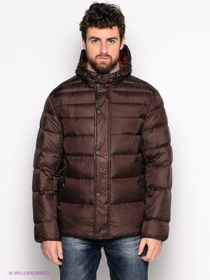 Куртка People. Цвет: темно-коричневый