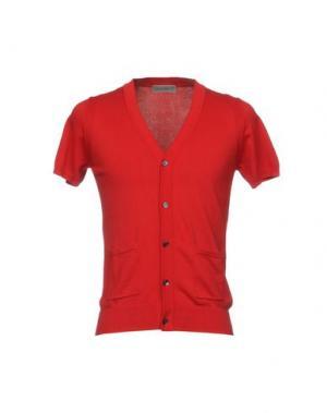 Кардиган JEORDIE'S. Цвет: красный
