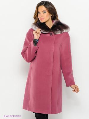 Пальто Malinardi. Цвет: розовый