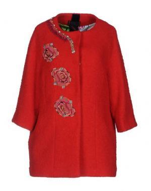 Пальто FEMME by MICHELE ROSSI. Цвет: красный
