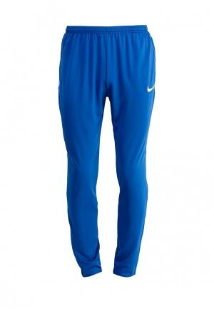 Брюки спортивные Nike. Цвет: синий
