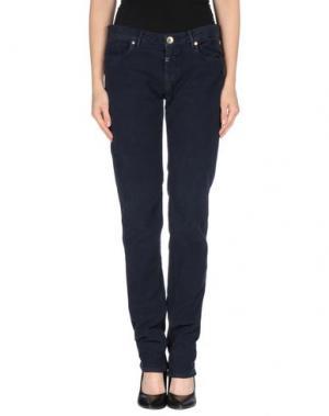 Повседневные брюки MASON'S JEANS. Цвет: темно-синий