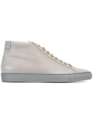 Кеды Achilles Mid Common Projects. Цвет: серый