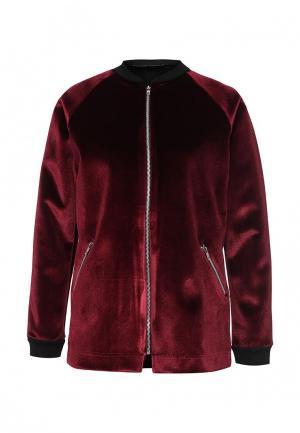 Куртка Lost Ink. Цвет: бордовый