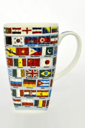 Кружка Флаги Мира Федерация. Цвет: мультицвет