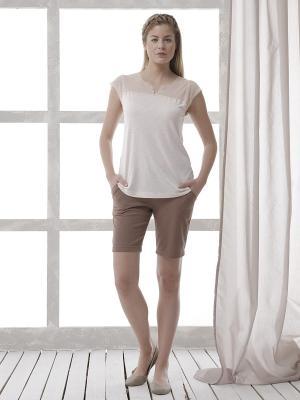 Комплект одежды RELAX MODE. Цвет: коричневый