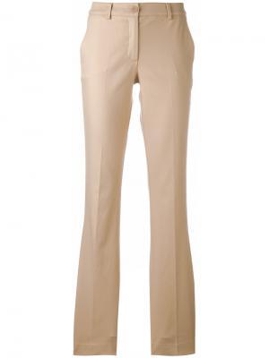 Расклешенные брюки Candela P.A.R.O.S.H.. Цвет: телесный