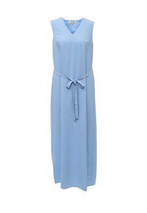 Платье MAST. Цвет: голубой