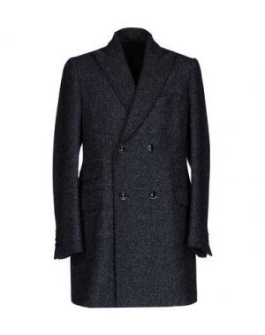 Пальто ANGELO NARDELLI. Цвет: темно-синий