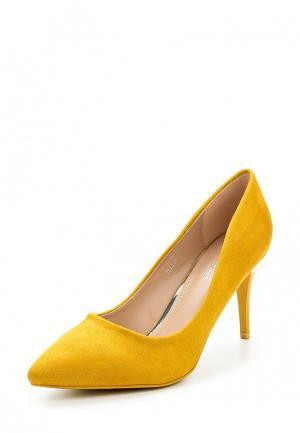 Туфли Ideal Shoes. Цвет: желтый
