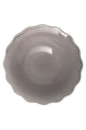Набор салатников 18,5 см 6 шт. H&H. Цвет: серый