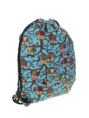 Рюкзак женский Migura. Цвет: голубой, розовый, желтый, коричневый