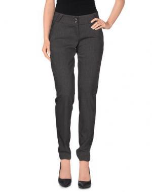 Повседневные брюки DIVINA. Цвет: свинцово-серый