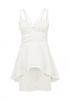 Платье Bebe. Цвет: белый