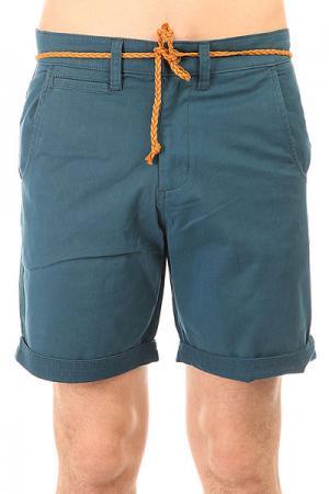 Шорты классические  Coop Chino Short Dark Blue Picture Organic. Цвет: синий