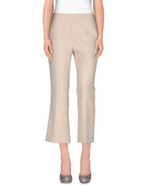 Повседневные брюки NIOI. Цвет: слоновая кость