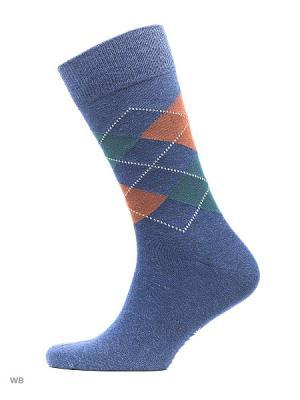 Носки мужские, 3 пары JOHN FRANK. Цвет: бордовый, зеленый, синий