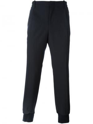 Спортивные брюки Wooyoungmi. Цвет: синий