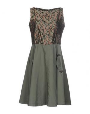 Короткое платье COAST WEBER & AHAUS. Цвет: зеленый-милитари