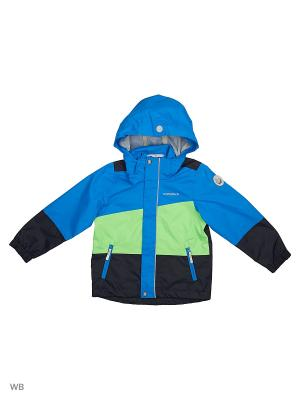 Куртка Icepeak. Цвет: темно-синий, зеленый, голубой
