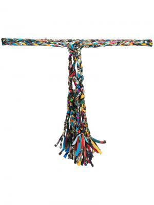 Plaited belt Pierre-Louis Mascia. Цвет: многоцветный