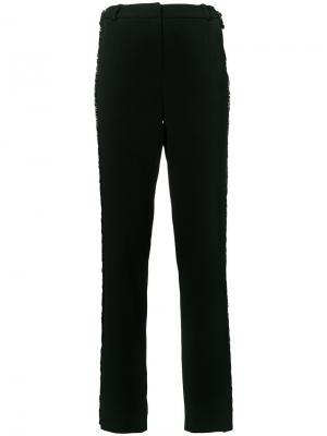 Прямые брюки Mugler. Цвет: чёрный