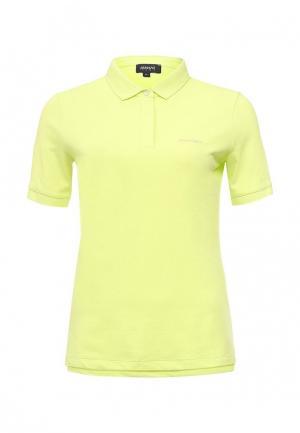 Поло Armani Jeans. Цвет: желтый