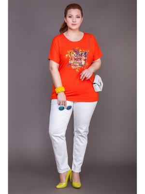 Блузки Lady Sharm Classic. Цвет: оранжевый