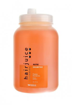 Шампунь питательный для окрашенных волос Brelil Professional. Цвет: оранжевый