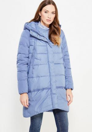 Куртка утепленная Clasna. Цвет: голубой