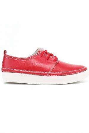 Туфли Destra. Цвет: красный