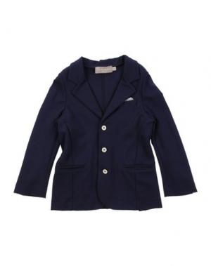 Пиджак LA STUPENDERIA. Цвет: темно-фиолетовый