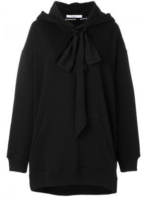 Толстовка с капюшоном мешковатого кроя Givenchy. Цвет: чёрный