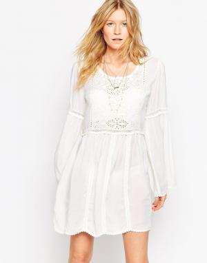 Melissa Odabash Свободное пляжное платье Anabelle. Цвет: кремовый