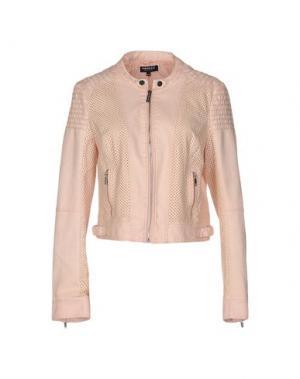 Куртка MORGAN DE TOI. Цвет: розовый