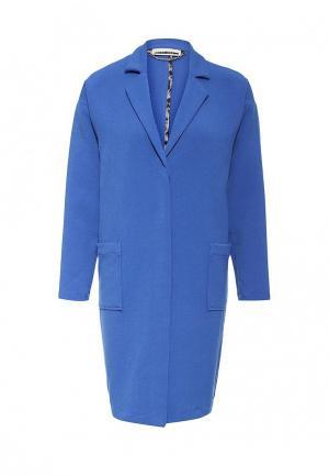 Пальто Noisy May. Цвет: синий