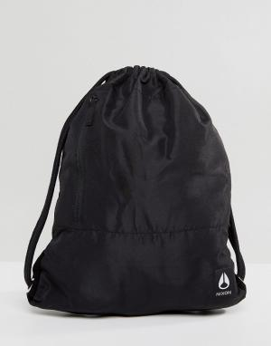 Nixon Рюкзак с затягивающимся шнурком Everyday II. Цвет: черный