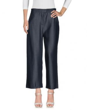 Джинсовые брюки ALPHA STUDIO. Цвет: синий