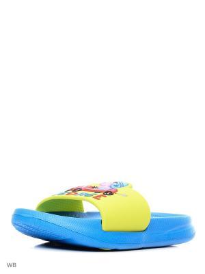 Пантолеты Kakadu. Цвет: синий, желтый